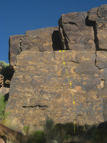 Rock Climbing Photo: Legendary (5.10b)
