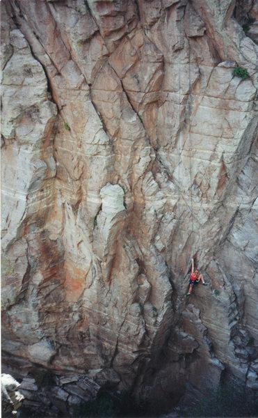 Rock Climbing Photo: Melissa on Agatha Christie...