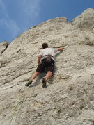 Rock Climbing Photo: approaching the first real difficulties