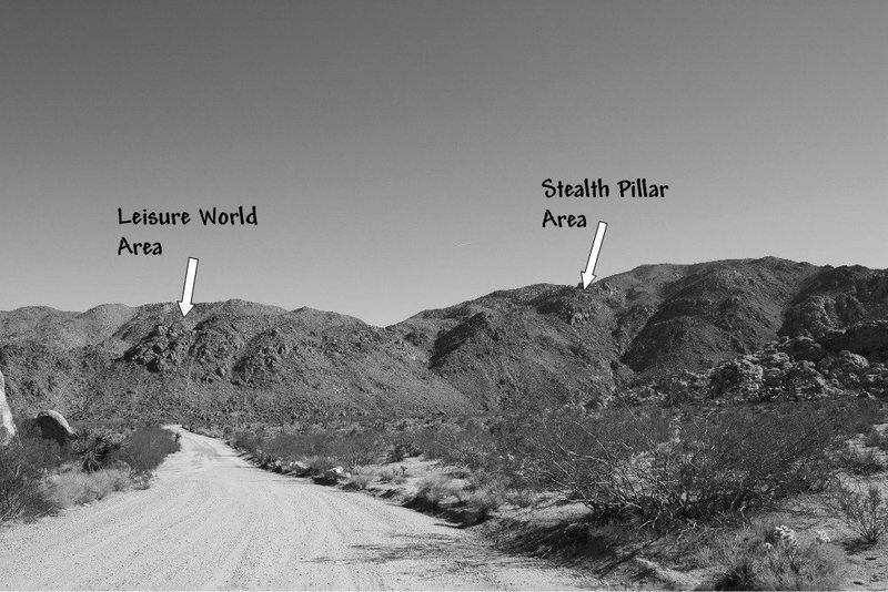 Overview of the  Rattlesnake Wash Hillside, Joshua Tree NP