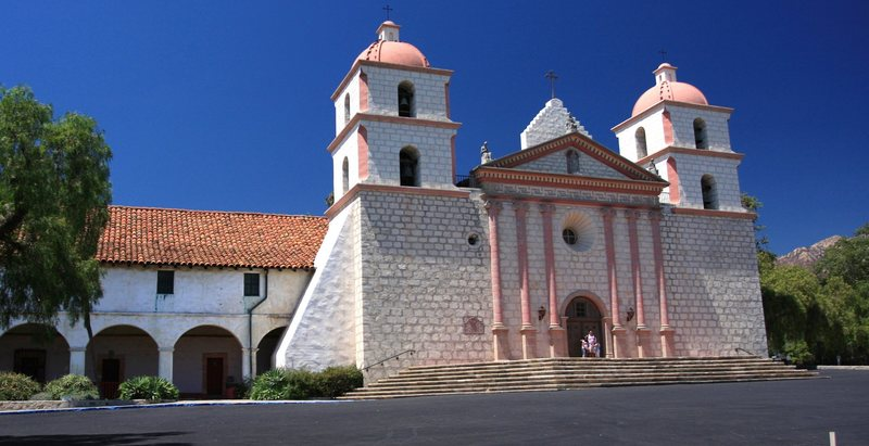 Rock Climbing Photo: Mission Santa Barbara