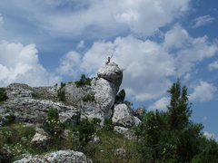 Rock Climbing Photo: Loving the views from the top of the hill...