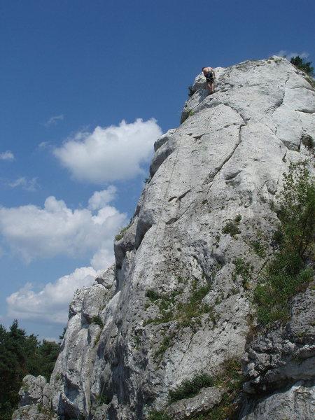 Rock Climbing Photo: Wielki Mlynarz
