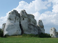 Rock Climbing Photo: nice little towers pop out of the farm fields and ...