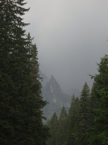 Mnich on a stormy day