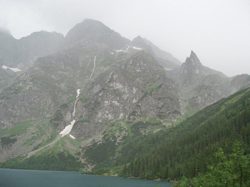 Mnich and Morskie Oko (the lake)