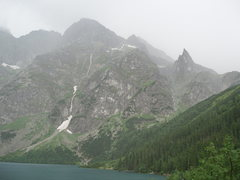 Rock Climbing Photo: Mnich and Morskie Oko (the lake)