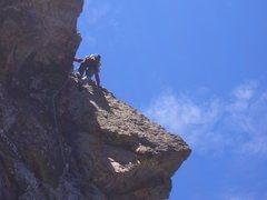 Rock Climbing Photo: Loving the Love crux