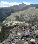 Rock Climbing Photo: Jordan looking salty...