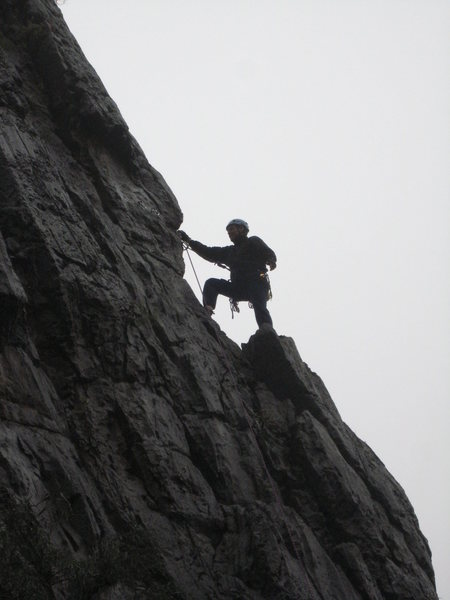 Rock Climbing Photo: End of day