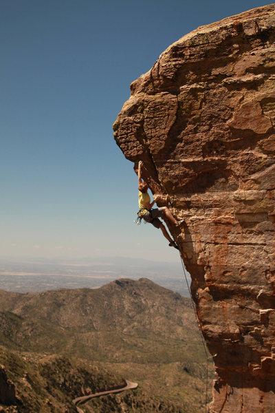 Photographer: Grant Stoltz<br> Climber: Daniel Driscoll