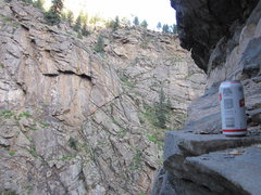 Rock Climbing Photo: My favorite part of working Rocketman... Primo Bee...