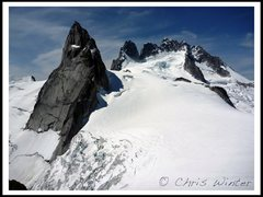 Rock Climbing Photo: Pigeon Spire and the Howsers from the West Face of...