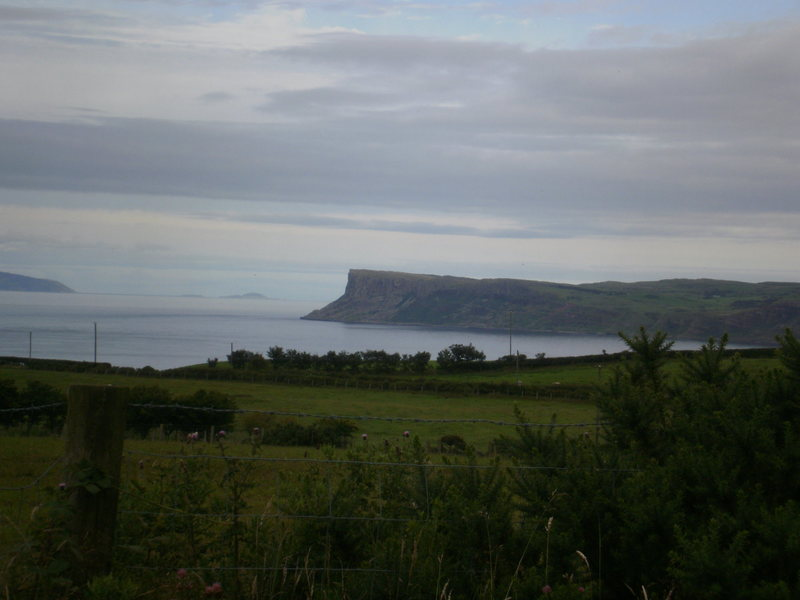 Fair Head, one of the better crags in the country