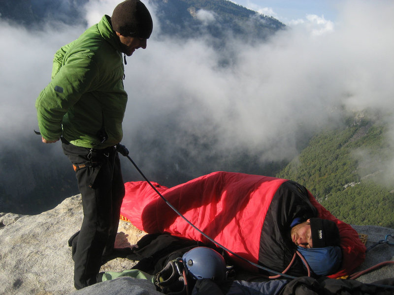 Rock Climbing Photo: Morning on El Cap Spire - photo: Ian McEleny