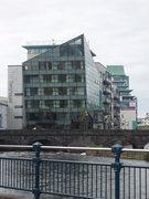 Rock Climbing Photo: The Glass House in Sligo (big modern hotel...)