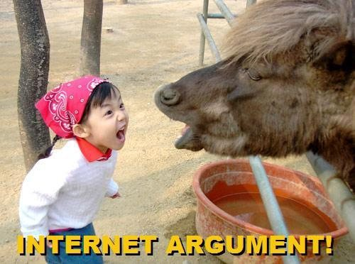 Internet Arguement!