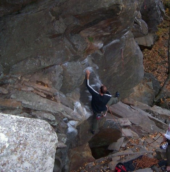 My first trip to Rumney '04