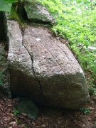 Rock Climbing Photo: For such a short boulder there is alot of moves in...