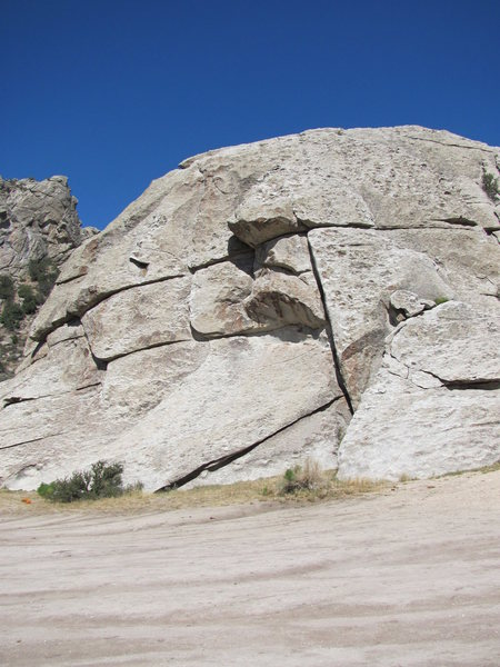 SW Face of Indian Chief Rock.