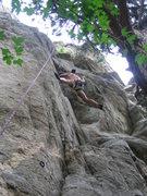 Rock Climbing Photo: Stem, stem, stem.