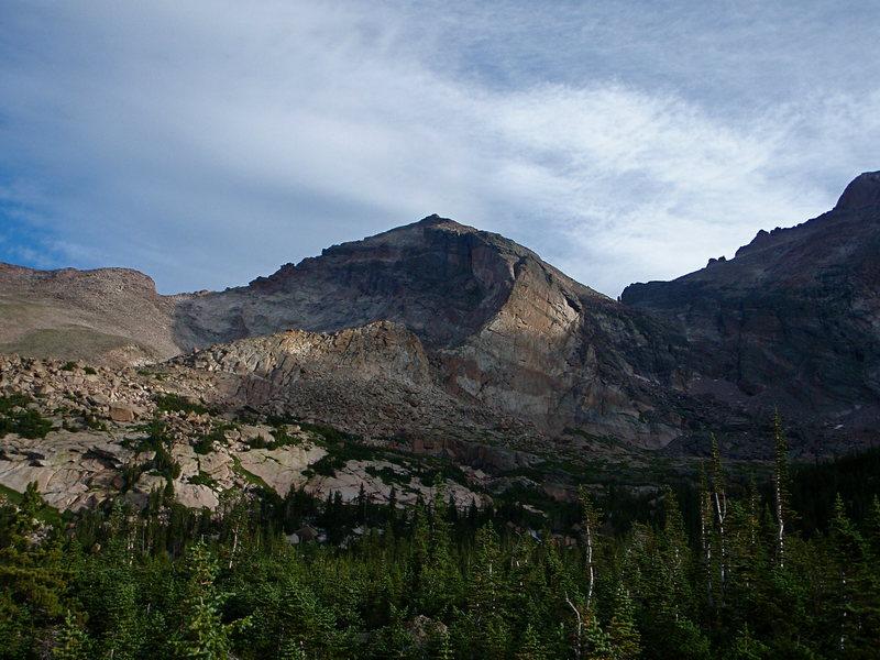 The Crescent Ridge and Pagoda Mt.