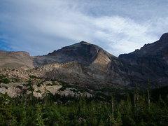 Rock Climbing Photo: The Crescent Ridge and Pagoda Mt.