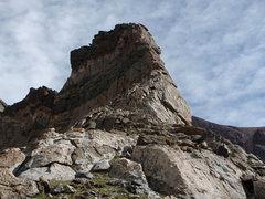 Rock Climbing Photo: The initial buttress.