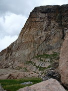 Rock Climbing Photo: The east side of the initial buttress as seen on t...