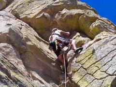Rock Climbing Photo: Some random hero...