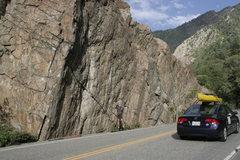Rock Climbing Photo: The wave wall!