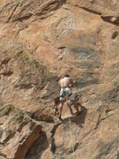"Rock Climbing Photo: quick anchor and down on ""Big Sky"""