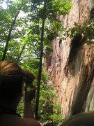 Rock Climbing Photo: Sharp crimps, Flexible flakes, and old bolts make ...