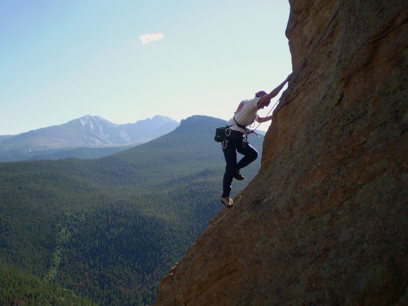Rock Climbing Photo: The photo op characteristics of the route may be i...
