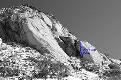 Rock Climbing Photo: Dirty Minds (5.11a), Joshua Tree NP