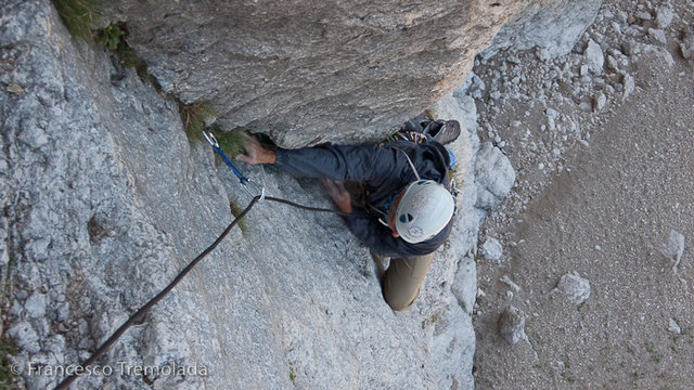 Near the top of pitch 2
