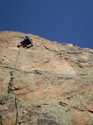 Rock Climbing Photo: Nice, sunny, clean rock.  Wish it would have conti...