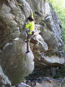 Rock Climbing Photo: J. Dias leads Yoda. I thought this was a really ni...