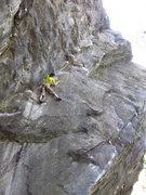 Rock Climbing Photo: Higher up on 'Peer Pressure'.