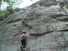 Rock Climbing Photo: The Flake, Palisades