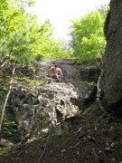 Rock Climbing Photo: Doing the pitch. Photographer Taylor Davis