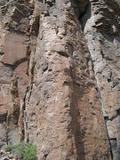 Rock Climbing Photo: New routes recently put up - the arete possibly a ...