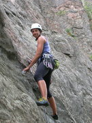 Rock Climbing Photo: Lead Clear Creek Canyon