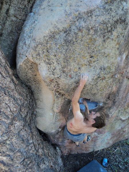 Rock Climbing Photo: Setup...