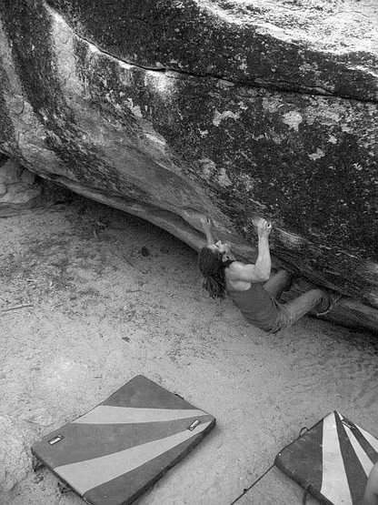 Joel on The Right Road (V9), Tramway