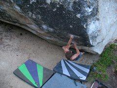 Rock Climbing Photo: Soul Shine (V10), Tramway