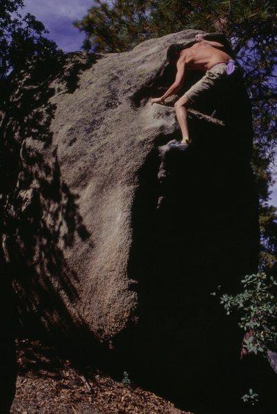 Rock Climbing Photo: Seth Dyer