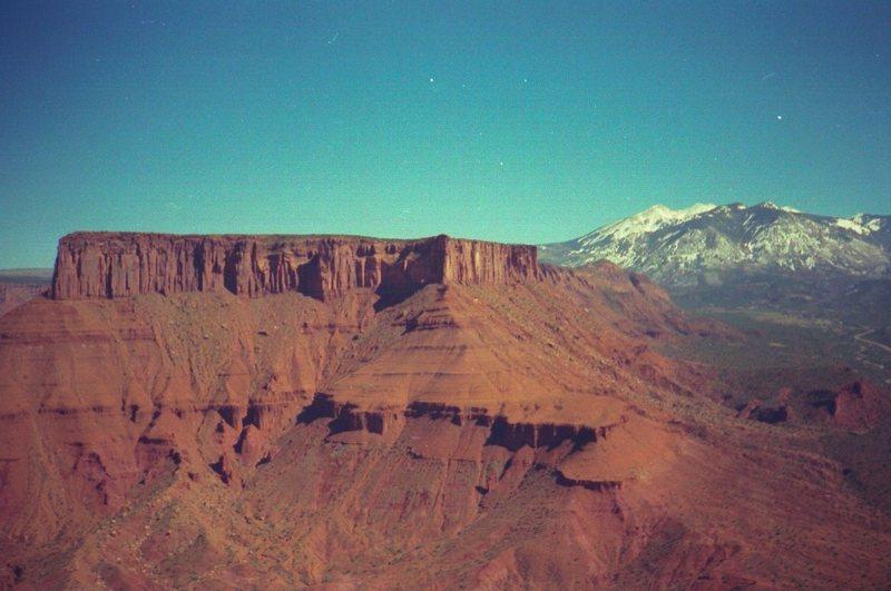 Rock Climbing Photo: Nice view from Bridger Jack.