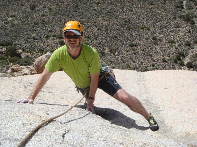 Rock Climbing Photo: Finishing Walk on the Wild Side Joshua Tree April ...