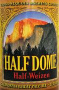 Rock Climbing Photo: Half Dome Half-Wiezen. Half wheat beer, half pale ...